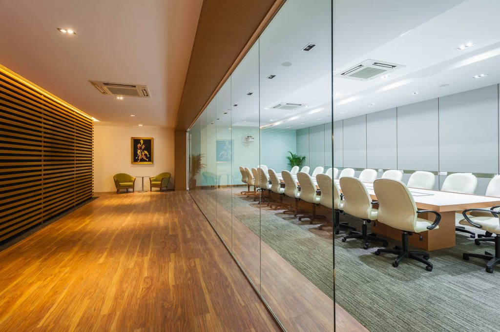 ICF, interior photography, boardroom