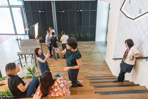 Creative Mobile Portrait Workshop, Della Ng, Sin Kok Wai